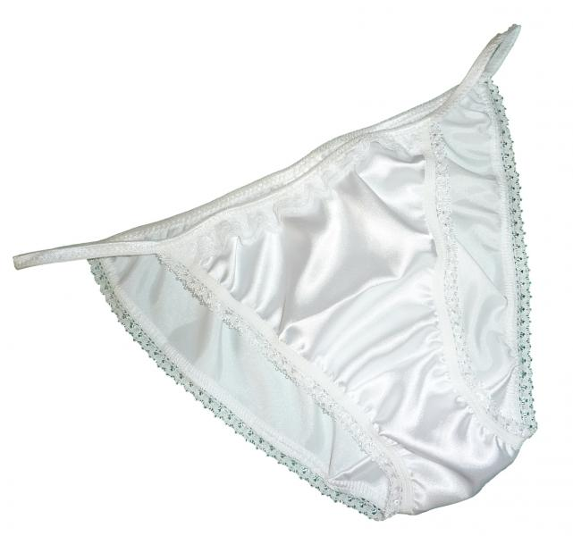 White Tanga Panties