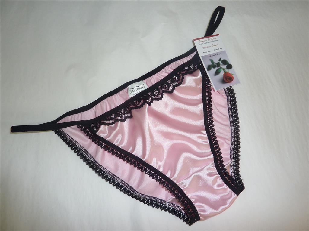 Satin bikini panties Etsy